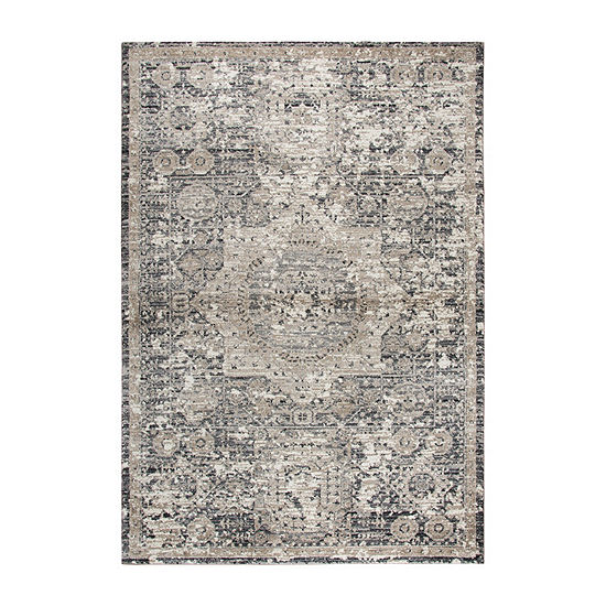 Rizzy Home Panache Collection Katelyn Medallion Rectangular Rugs