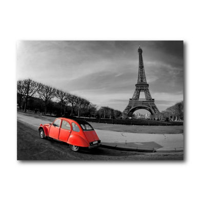 Touring Paris II Canvas Wall Art Canvas Art