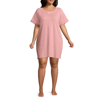 Flirtitude Short Sleeve Dress - Juniors Plus