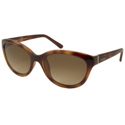 Valentino Sunglasses V636S / Frame: Havana Lens: Brown Gradient