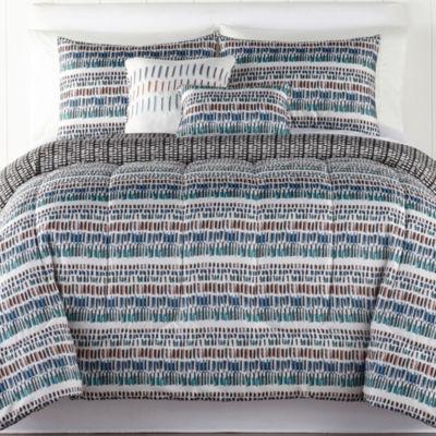 Keyes Wrinkle Resistant Comforter Set