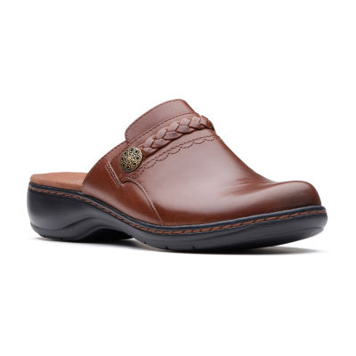 Clarks Womens Leisa Carly Clogs Slip-on Round Toe