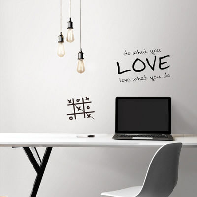 Brewster Wall Dry Erase Peel & Stick Wallpaper Wall Decal