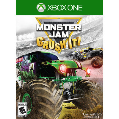 XBox One Monster Jam: Crush It! Video Game