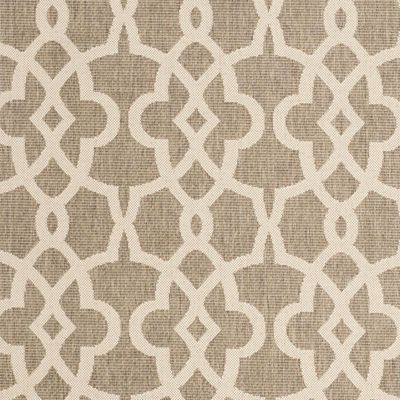 Safavieh Courtyard Collection Ariana Oriental Indoor/Outdoor Runner Rug