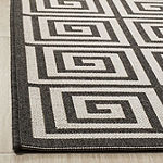Safavieh Linden Collection Zoie Geometric Square Area Rug