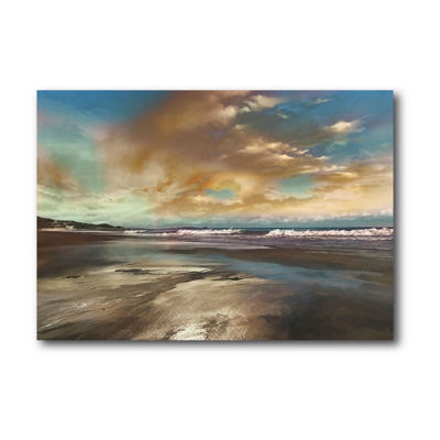 Blue Reflection Canvas Wall Art Canvas Art