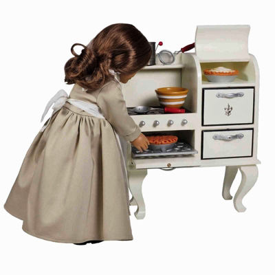 The Queen's Treasures 18 Inch Doll Kitchen Furniture Stove Oven
