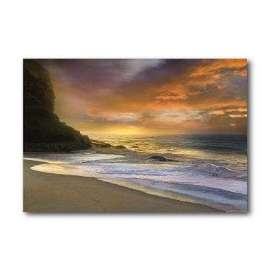 Malibu Sun Canvas Wall Art Canvas Art