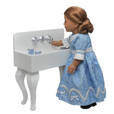 The Queen's Treasures Antique Kitchen Sink; 18 Inch Doll Furniture