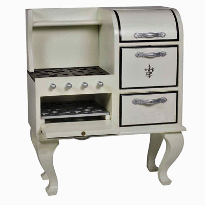 The Queen's Treasures 18 Inch Doll Kitchen Furniture; Stove Oven