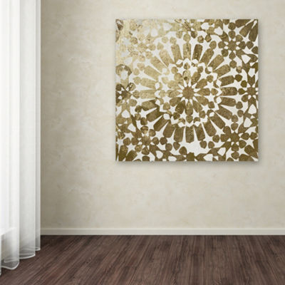Trademark Fine Art Color Bakery Moroccan Gold I Giclee Canvas Art