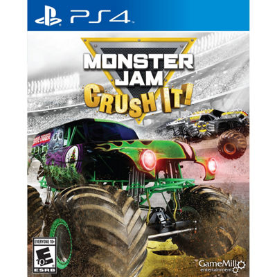 Playstation 4 Monster Jam: Crush It! Video Game