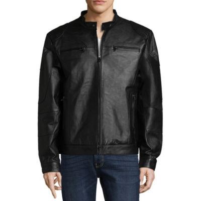 Vintage Leather Nappa Racing Jacket