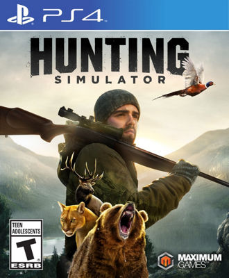 Playstation 4 Hunting Simulator Video Game