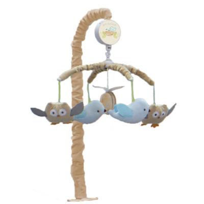 Nurture Nesting Owls Musical Crib Mobile