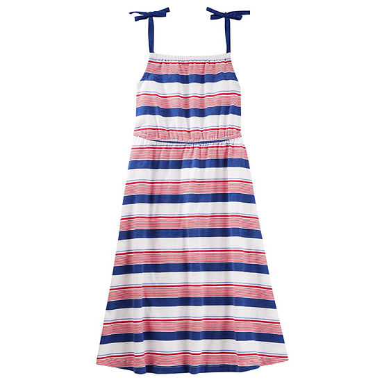 Oshkosh Girls Sleeveless A-Line Dress - Preschool