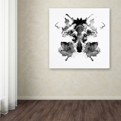 Trademark Fine Art Robert Farkas Rorschach GicleeCanvas Art
