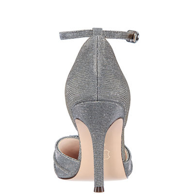 I Miller Shoes Womens Cady Pumps Buckle Pointed Toe Cone Heel