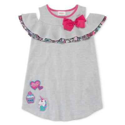 Jojo Siwa Sleeveless Pattern A-Line Dress - Preschool Girls