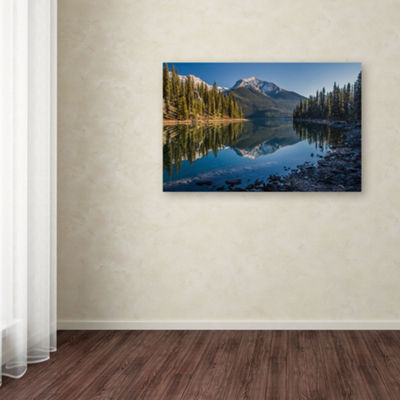 Trademark Fine Art Pierre Leclerc Jasper Morning Giclee Canvas Art
