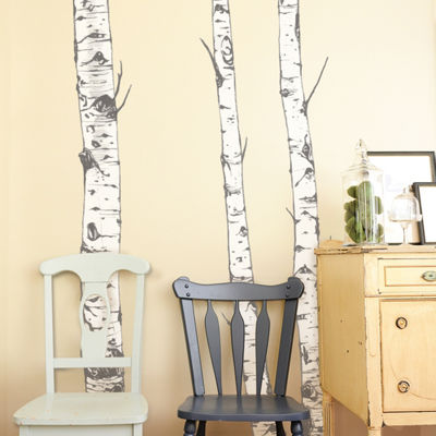 New View New View Birch Trees Decal Wall Decal