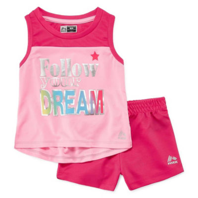 Rbx 2-pc. Short Set Toddler Girls