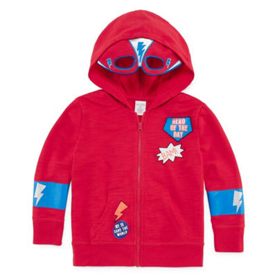 Okie Dokie Mask Hoodie-Toddler Boys