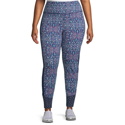 St. John's Bay Active Print Block Legging - Plus