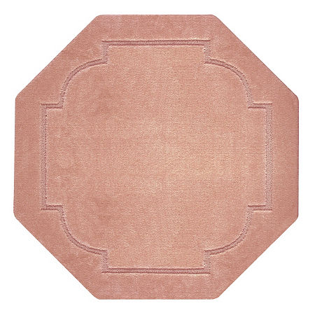 JCPenney Home Imperial Washable Octagonal Rug, One Size , Pink