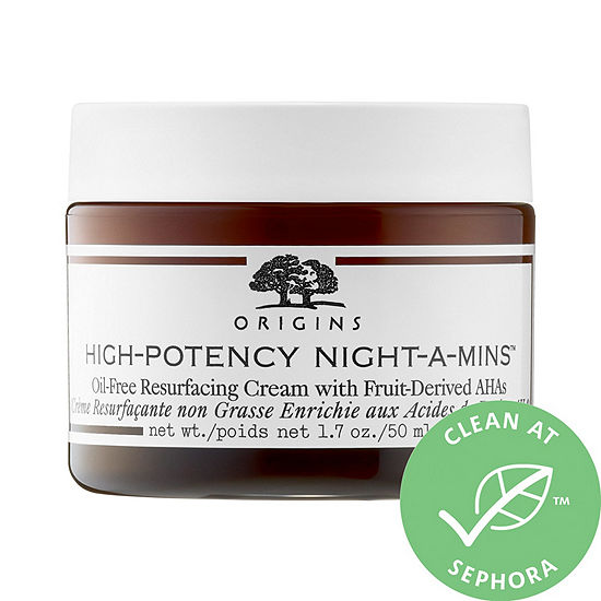 Origins High-Potency Night-a-Mins™ Oil-Free Resurfacing Cream with Fruit-Derived AHAs