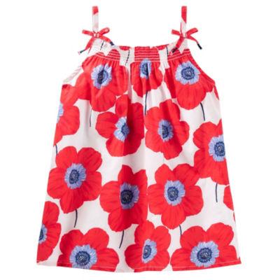 Oshkosh Sleeveless T-Shirt-Preschool Girls
