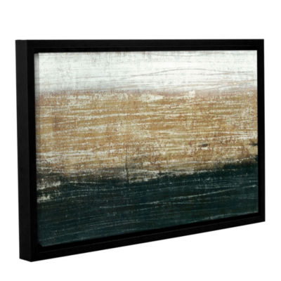 Sandstorm Floater-Framed Gallery Wrapped Canvas
