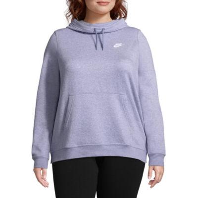 Nike Fleece Long Sleeve Sweatshirt – Plus