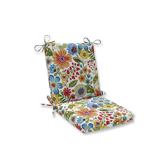 Pillow Perfect Gregoire Prima Squared Corners Patio Chair Cushion