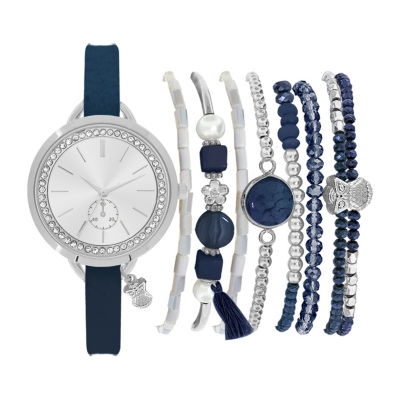 Womens Blue Bracelet Watch-St2466s689-007