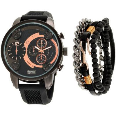 Womens Black Bracelet Watch-Mst5421bk100-264