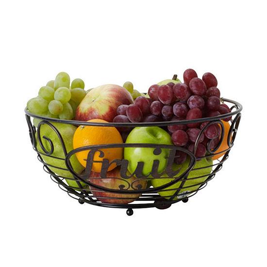 Gourmet Basics by Mikasa Mksa Gb Chitchat Fruit Basket Os Ht Over Cabinet Storage