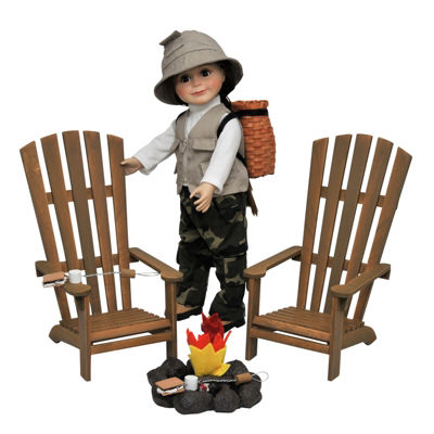 The Queen's Treasures 18 Inch Doll Camping Adventure Accessories