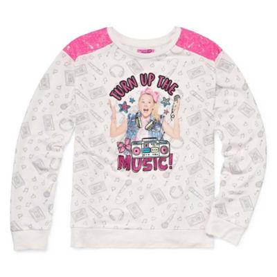 JoJo Siwa Long Sleeve Sweatshirt Girls