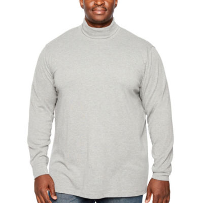 The Foundry Big & Tall Supply Co. Mens Long Sleeve Turtleneck Big and Tall