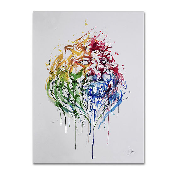 Trademark Fine Art Marc Allante A Portrait of HongKong Giclee Canvas Art