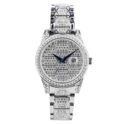 Croton N/A Womens Two Tone Bracelet Watch-Cn207562ttbd