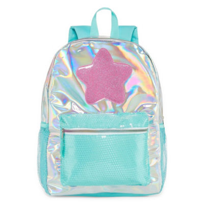 Holographic Star Backpack