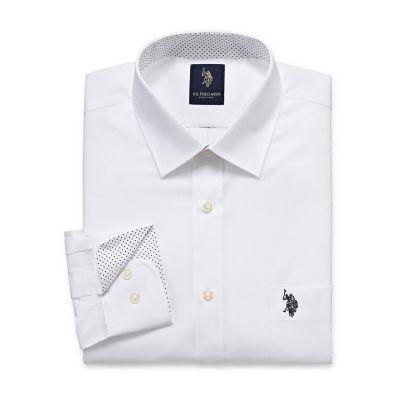 U.S. Polo Assn. Uspa Dress Shirt Long Sleeve Broadcloth Dress Shirt
