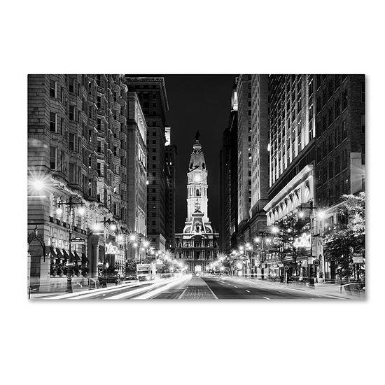 Trademark Fine Art Phillipe Hugonnard City Hall Philadelphia Giclee Canvas Art