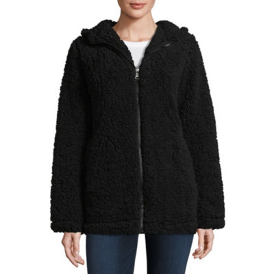 a.n.a Sherpa Hooded Heavyweight Jacket