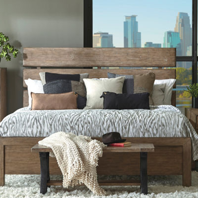 Flatbush Plank Style Queen Bed