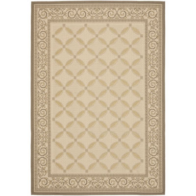 Safavieh Courtyard Collection Anima Geometric Indoor/Outdoor Area Rug
