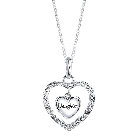 Footnotes Sterling Silver Pendant Necklace